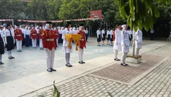 Pengibaran Bendera Merah Putih  HUT RI KE 74 | SMP NEGERI 20 BEKASI